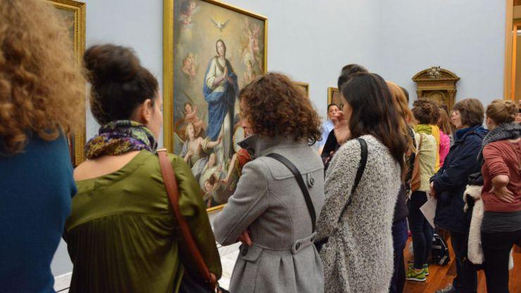 El Museo de Bellas Artes recibe cerca de 140.000 visitantes en 2017