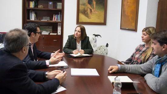 Encuentro con la nueva directiva de AJE Cádiz