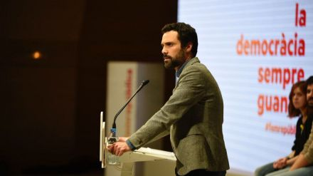 Roger Torrent, presidente del Parlament