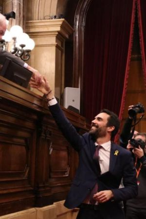¿Está presionando Puigdemont a Torrent para que lo invista?
