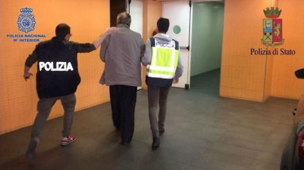 Detenido en Alicante el histórico mafioso italiano Fausto Pellegrinetti huido desde 1993