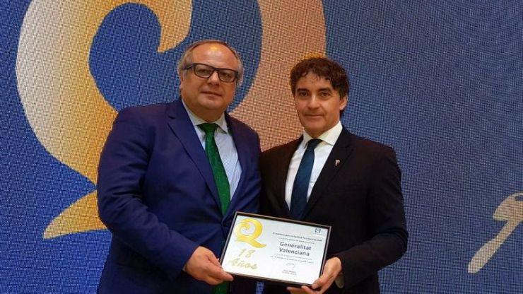 Colomer ratifica en Fitur el compromiso de la Generalitat por la calidad turística