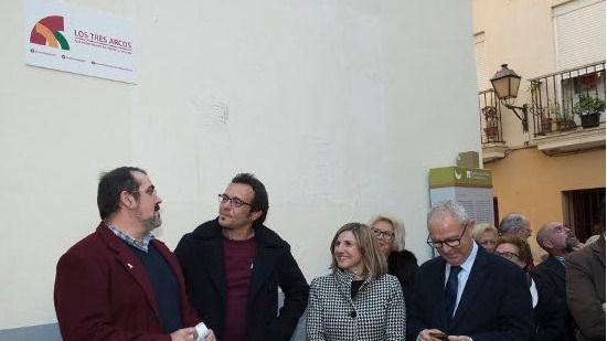 La AVV Los Tres Arcos inaugura su sede las obras realizadas con fondos del Plan Invierte