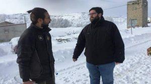 Efectivos de la Diputación de Ávila trabajan para abrir el acceso a una veintena de poblaciones