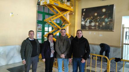 El Ayuntamiento de Jaén realiza trabajos de mejora en la estación de autobuses