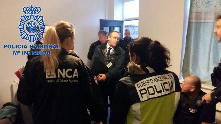 Liberadas 4 mujeres y detenidas 12 personas en una operación contra la trata de seres humanos