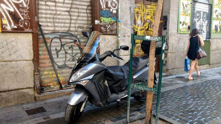 Nuevas ubicaciones de aparcamiento para motocicletas en Ávila