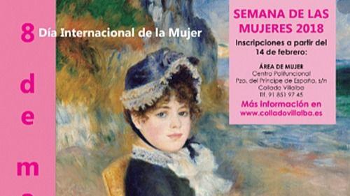 El Ayuntamiento de Collado Villalba presenta un programa para el Día Internacional de la Mujer