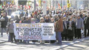 Los pensionistas alertan de nuevas movilizaciones