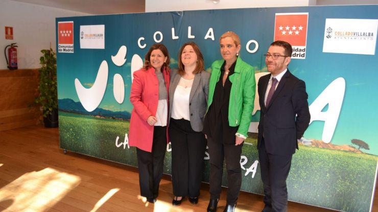 Collado Villalba y la Comunidad de Madrid firman un convenio en materia de seguridad y salud en el trabajo