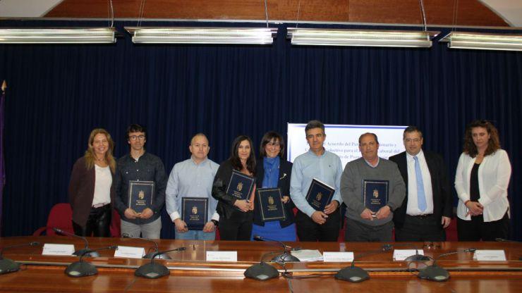 El Ayuntamiento de Pozuelo y los sindicatos firman el acuerdo de funcionarios y el convenio colectivo para personal laboral