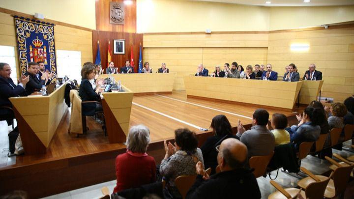 """El Pleno aprueba mejoras en instalaciones deportivas y el impulso de la """"transversalización de género"""" en las Rozas"""