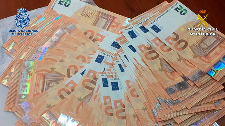Introducían en España billetes falsos procedentes de Italia