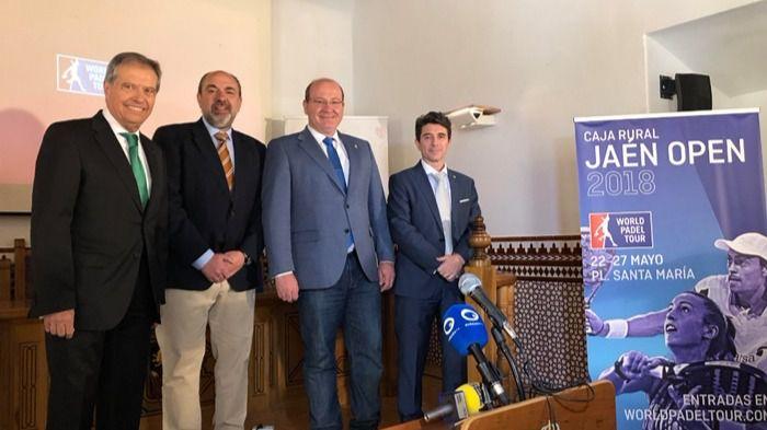 El alcalde de Jaén destaca la celebración del torneo WPT Caja Rural Jaén Open 2018