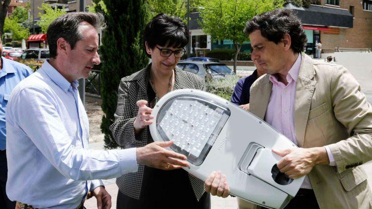 Pozuelo renueva el alumbrado público con el que ahorrará energía y reducirá la contaminación lumínica
