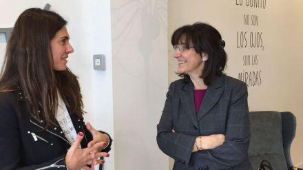 La alcaldesa de Pozuelo muestra su apoyo al comercio local