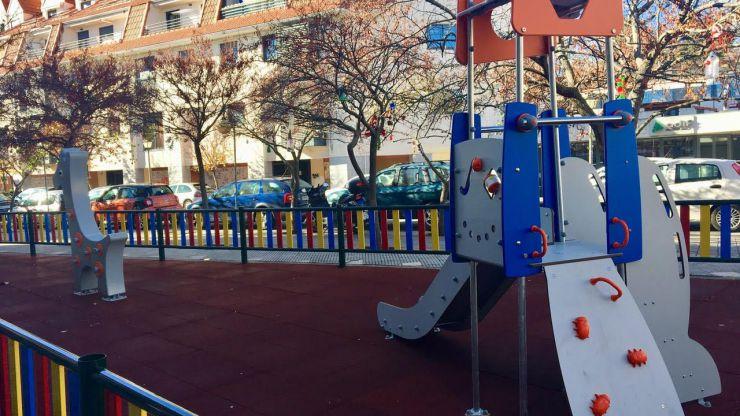 Mejoras y nuevos parques infantiles en El Escorial