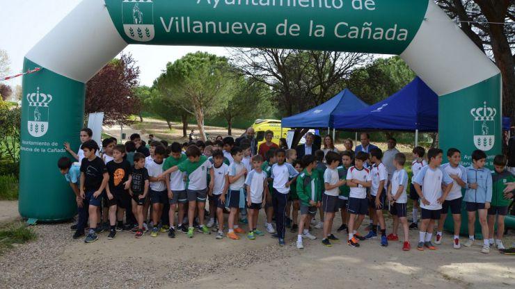 Villanueva de la Cañada se suma al Día Mundial de la Meningitis con un cross para escolares