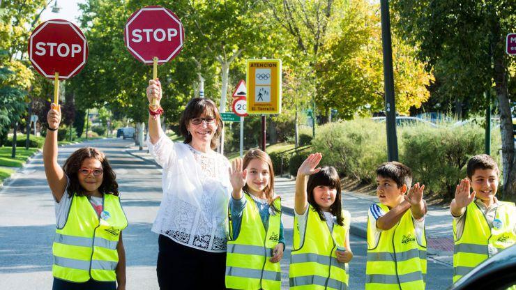 """Pozuelo organiza las rutas """"Al cole a pie"""" para fomentar la movilidad ecológica, segura y saludable"""