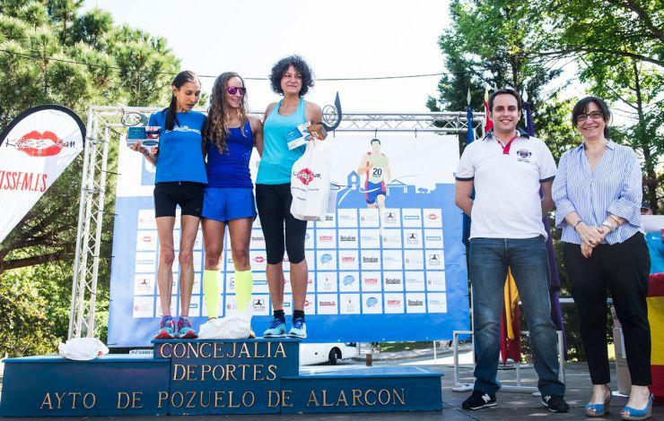 Cerca de 1.400 corredores han participado en la carrera popular de Pozuelo de Alarcón