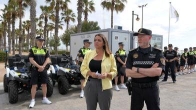 El servicio de protección de playas se amplía hasta la madrugada desde el 15 de junio