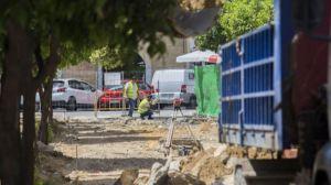 Arrancan las obras de peatonalización de la calle Adriano en Huelva