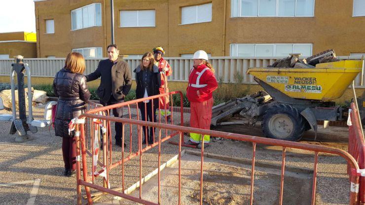 El Ayuntamiento de Almeria reanuda, a partir del miércoles, las obras en el Paseo Marítimo de Cabo de Gata