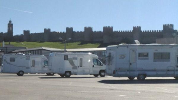 Izquierda Unida vuelve a lanzar su apuesta por el turismo de autocaravanas en Ávila