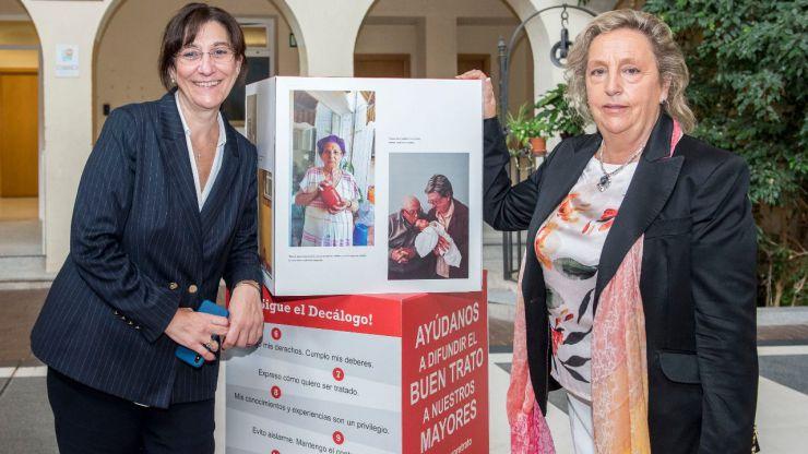 """El Ayuntamiento de Pozuelo acoge la muestra de Cruz Roja """"+Que un retrato"""""""