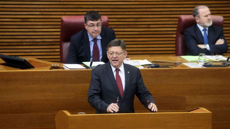 Puig reivindica el diálogo con el nuevo Gobierno central en materia de inversiones, financiación y avances sociales