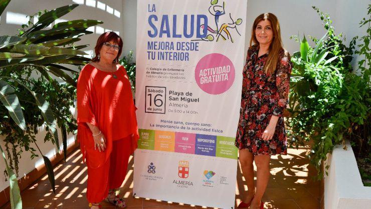 El Ayuntamiento de Almería y el Colegio de Enfermería invitan a 'Mejorar la salud desde tu interior'