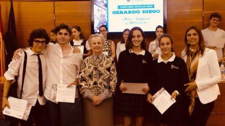 Los alumnos de Pozuelo reciben los Premios del Concurso de Poesía, Ilustración y Declamación Gerardo Diego