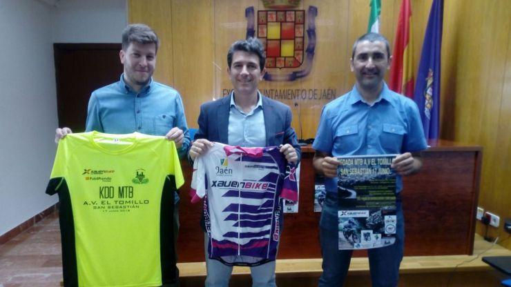 El Ayuntamiento de Jaén colabora en la organización de la I KDD MTB AVV El Tomillo-San Sebastián
