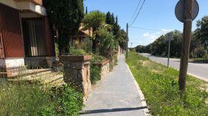 Mejoras en la calle Alcudia de Montencinar en El Escorial