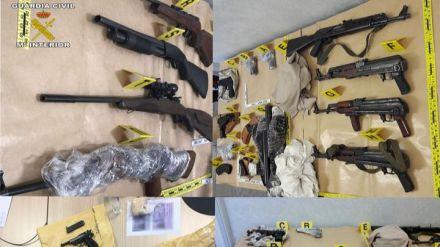 Desarticulada una organización dedicada al tráfico de armas a nivel internacional