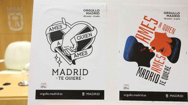 El Ayuntamiento de Madrid con el Orgullo 2018
