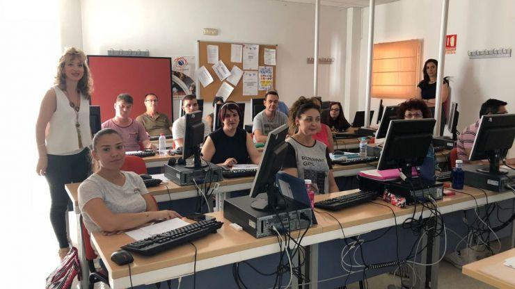 El Ayuntamiento de Jaén imparte cursos TIC para facilitar las búsqueda de empleo
