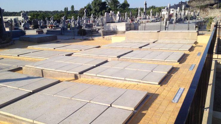 Finalizan las obras de ampliación del Cementerio de El Escorial