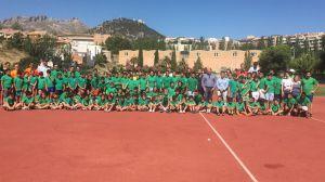El alcalde de Jaén visita las Escuelas Municipales de Verano en la que disfrutan de sus actividades 300 niños