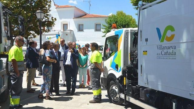 Nuevo servicio de limpieza viaria y recogida de residuos domésticos en Villanueva de la Cañada