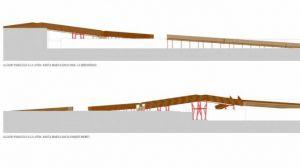 El Ayuntamiento de Huelva firma el contrato de la pasarela peatonal de madera que unirá La Hispanidad con el Parque Moret