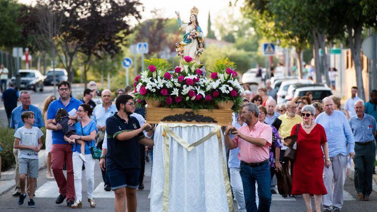 La Colonia de Los Ángeles de Pozuelo ha celebrado las fiestas en honor a su patrona