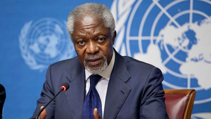 Ha muerto el ex secretario general de la ONU y Nobel de la Paz Kofi Annan