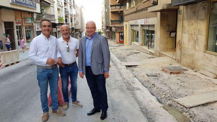 El Ayuntamiento de Jaén destaca el gran cambio que va a suponer las obras en la calle Doctor Eduardo Arroyo