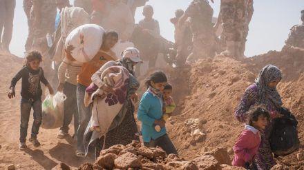 Falta de fondos para atender a los desplazados y refugiados sirios