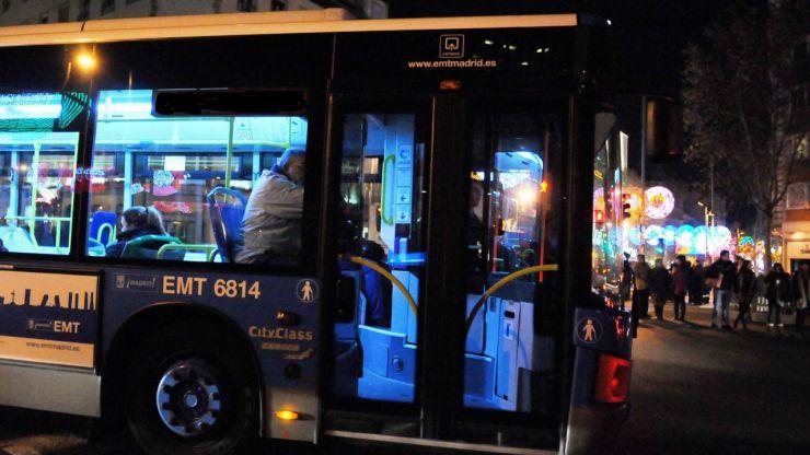 EMT refuerza 32 líneas para facilitar el acceso al Centro durante la época navideña