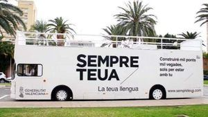 El Bus de la Llengua hace parada el Día de la Infancia en València