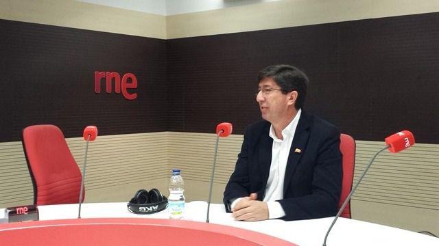 Marín defiende que un pacto con PP-A es suficiente para gobernar aunque luego se precisen