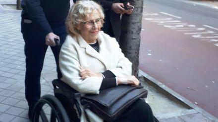 Carmena recibe el alta hospitalaria