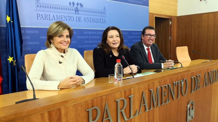 """Carmen Crespo: """"El cambio en Andalucía ya tiene fecha y su líder indiscutible es Juanma Moreno"""""""